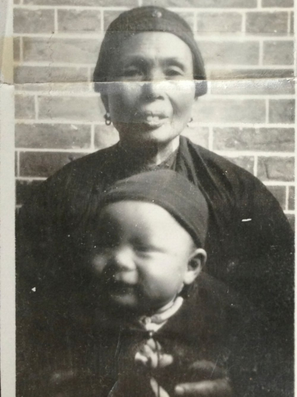 Roland's mother, Mrs Ah Gee Ong in China in 1932