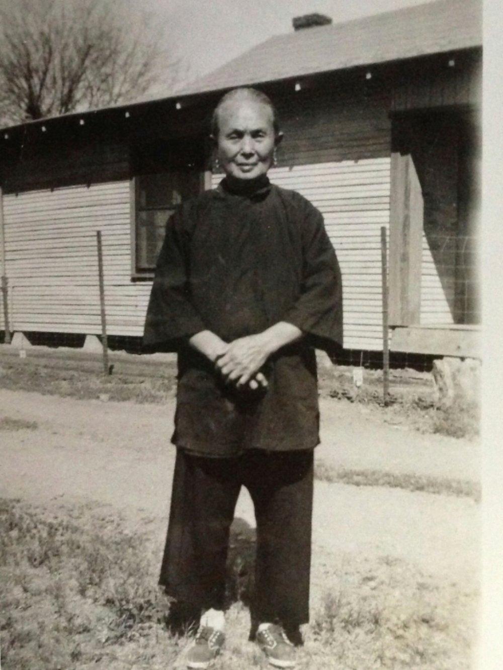 Mrs Ah Gee Ong in Phoenix in 1940