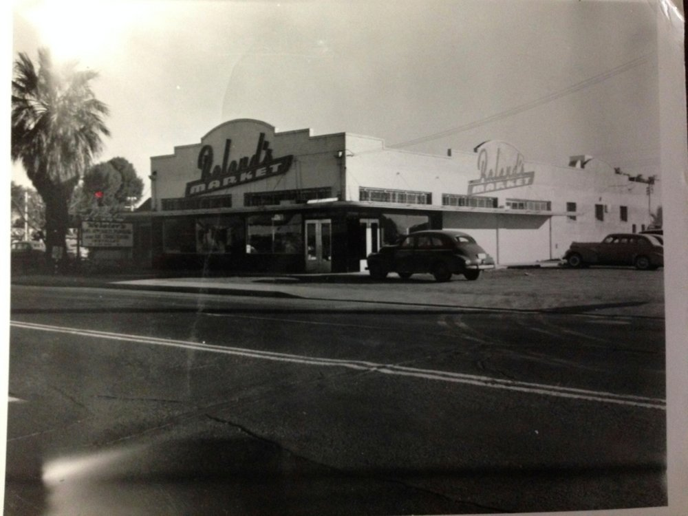 Roland's Market in the 1950's
