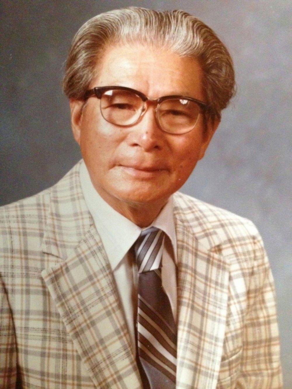 Roland's retirement photo, 1982