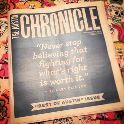 The Austin Chronicle, the week after