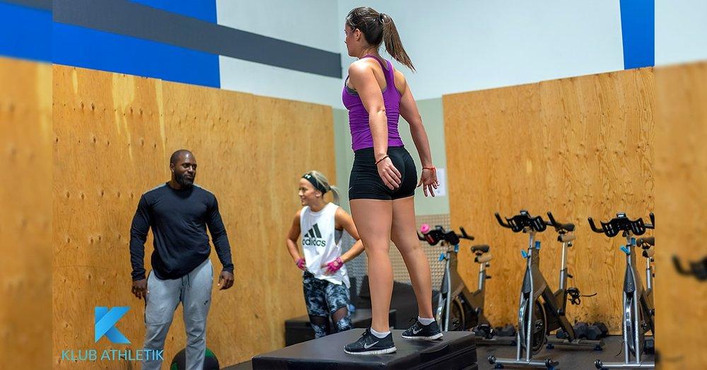 Klub Athletik Terrebonne gym - k-fit crossfit class