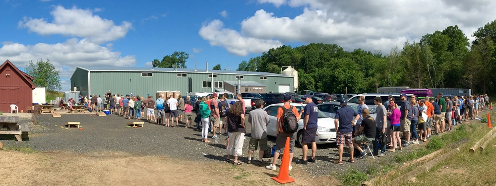Treehouse Brewing Part - 20: Line Thirty Minutes Before Opening