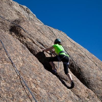 rock climbing woa