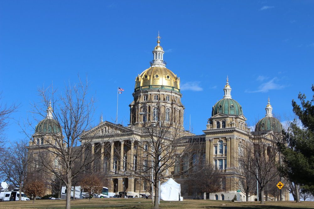 Take a self-guided tour available Monday - Saturday at the Iowa State Capitol.
