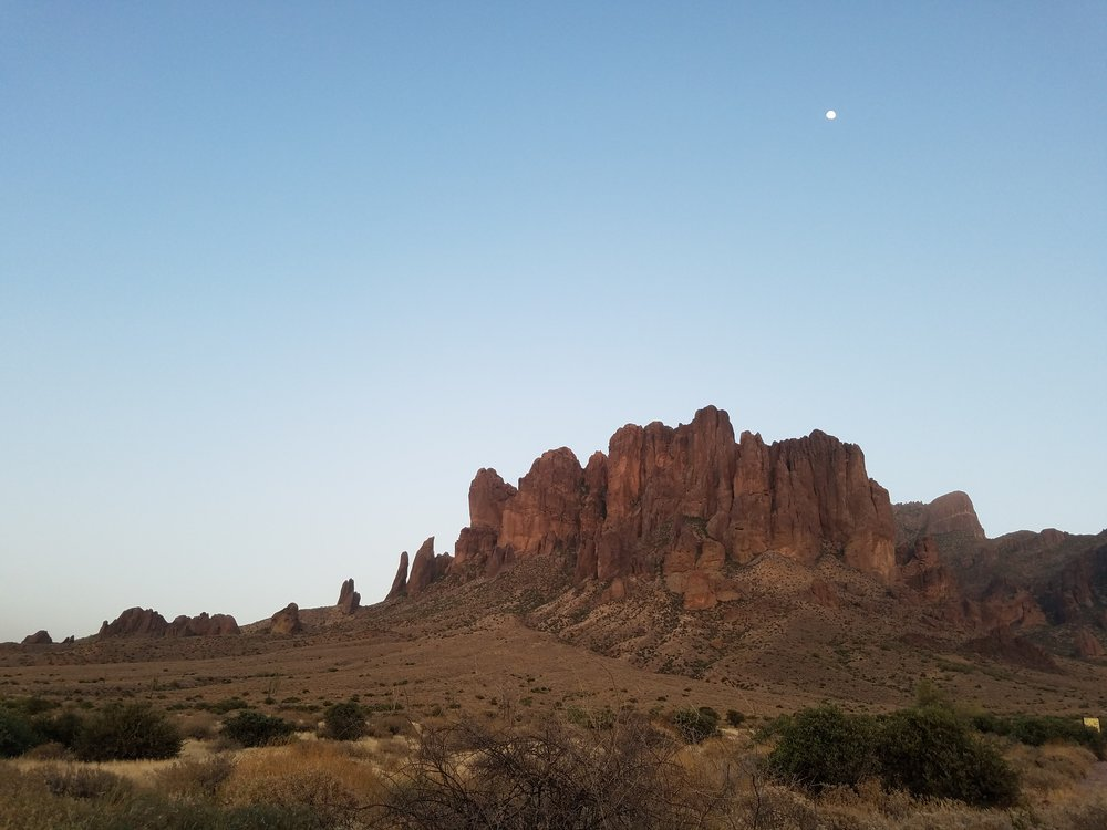 Superstition Mountains, Lost Dutchman State Park