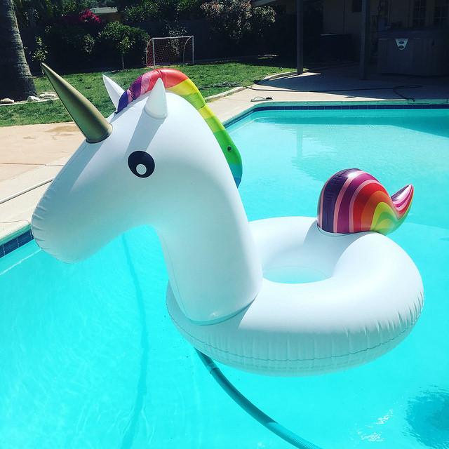 unicorn floatie