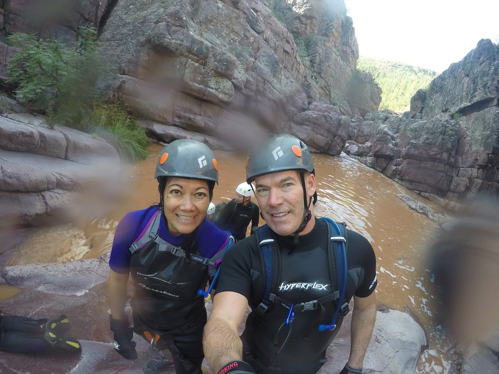 jaina canyoneering