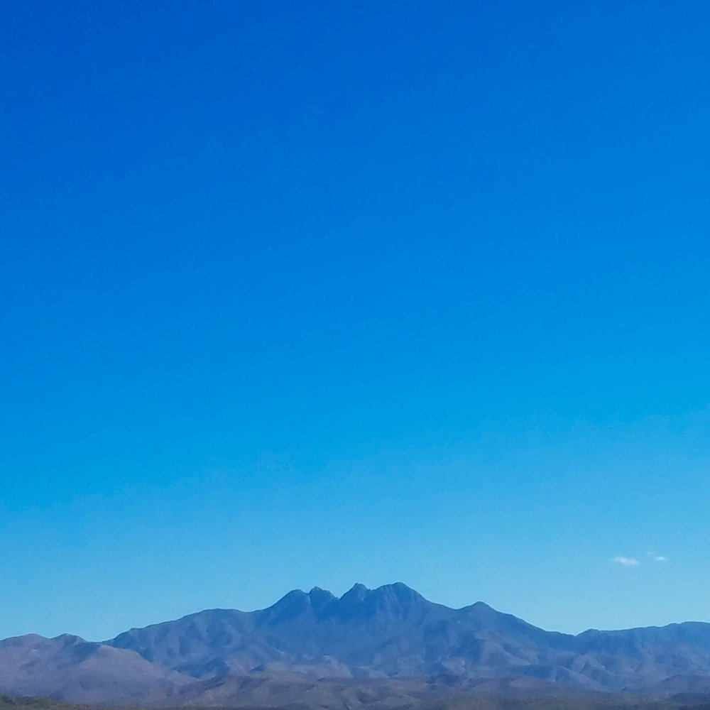 Got a great view of Four Peaks.