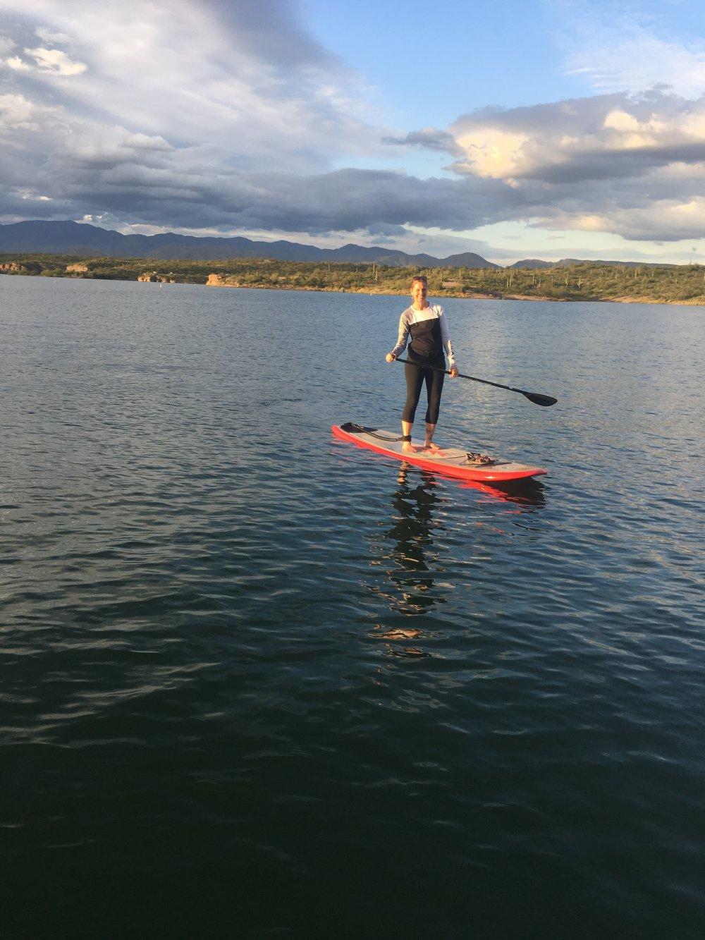 jenny SUP Lake pleasant