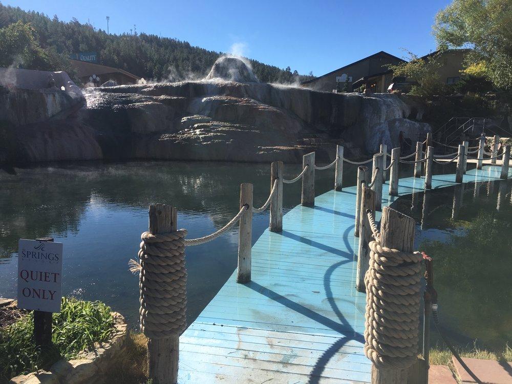 The Springs Resort in Pagosa Springs, Colorado.
