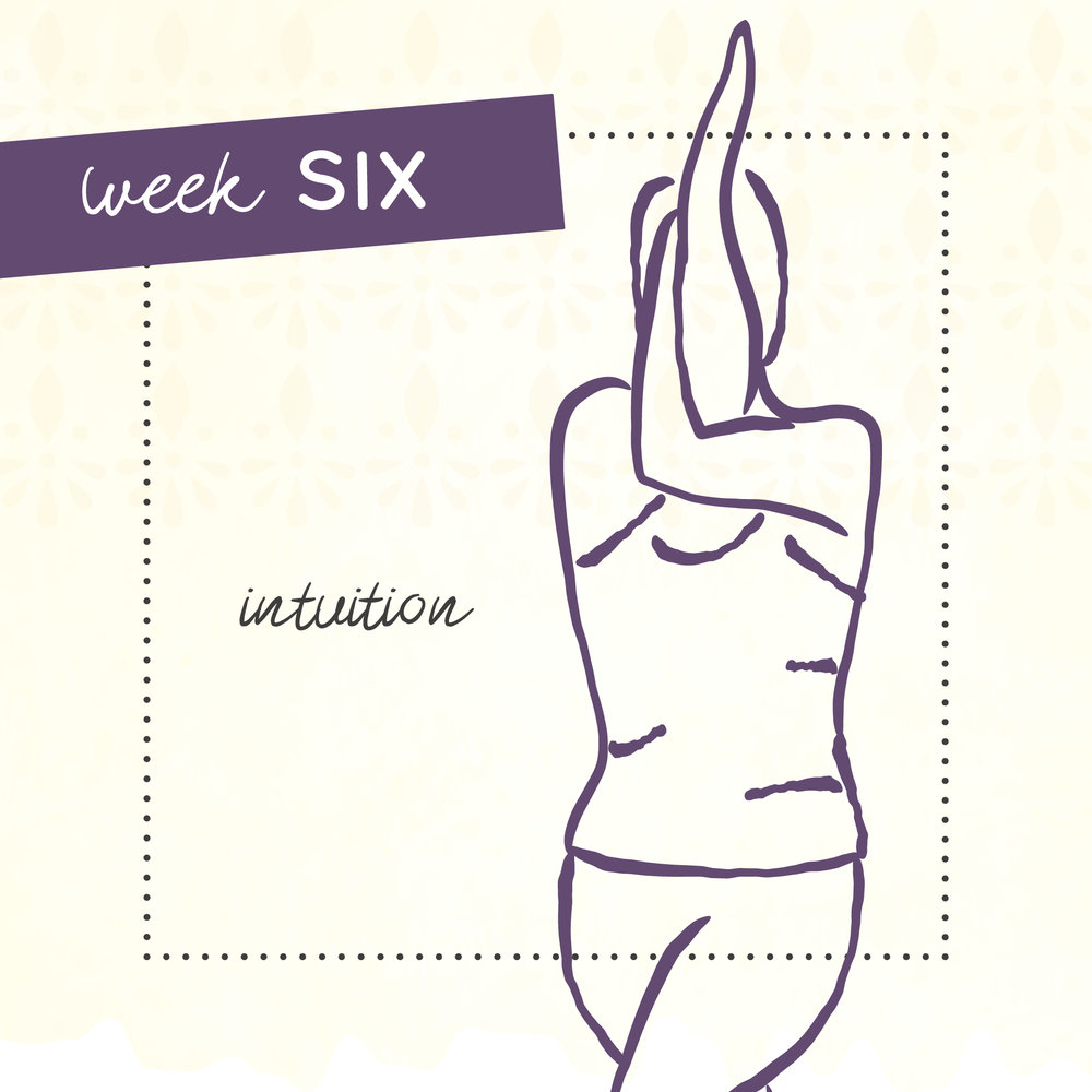 Week six of The Intrepid Yoga Project focusing on intuition.