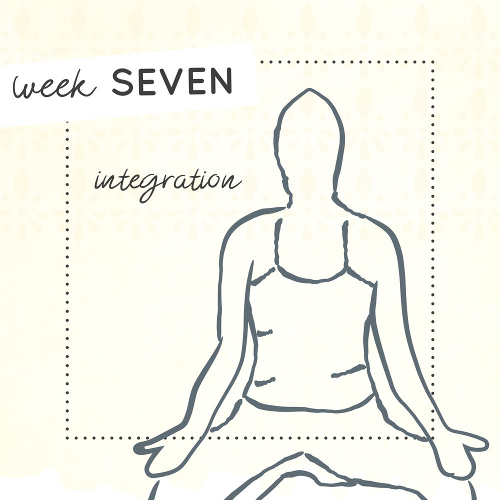 Week seven of The Intrepid Yoga Project focusing on integration.