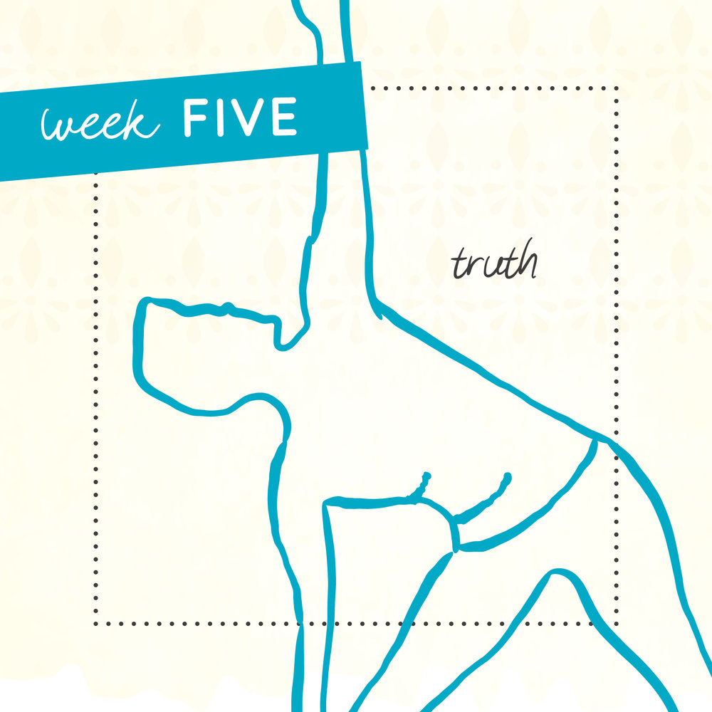 Week five of The Intrepid Yoga Project focusing on truth..
