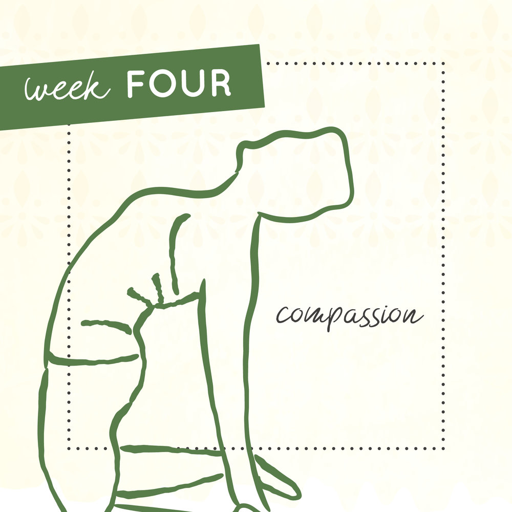 Week four of The Intrepid Yoga Project focusing on compassion..