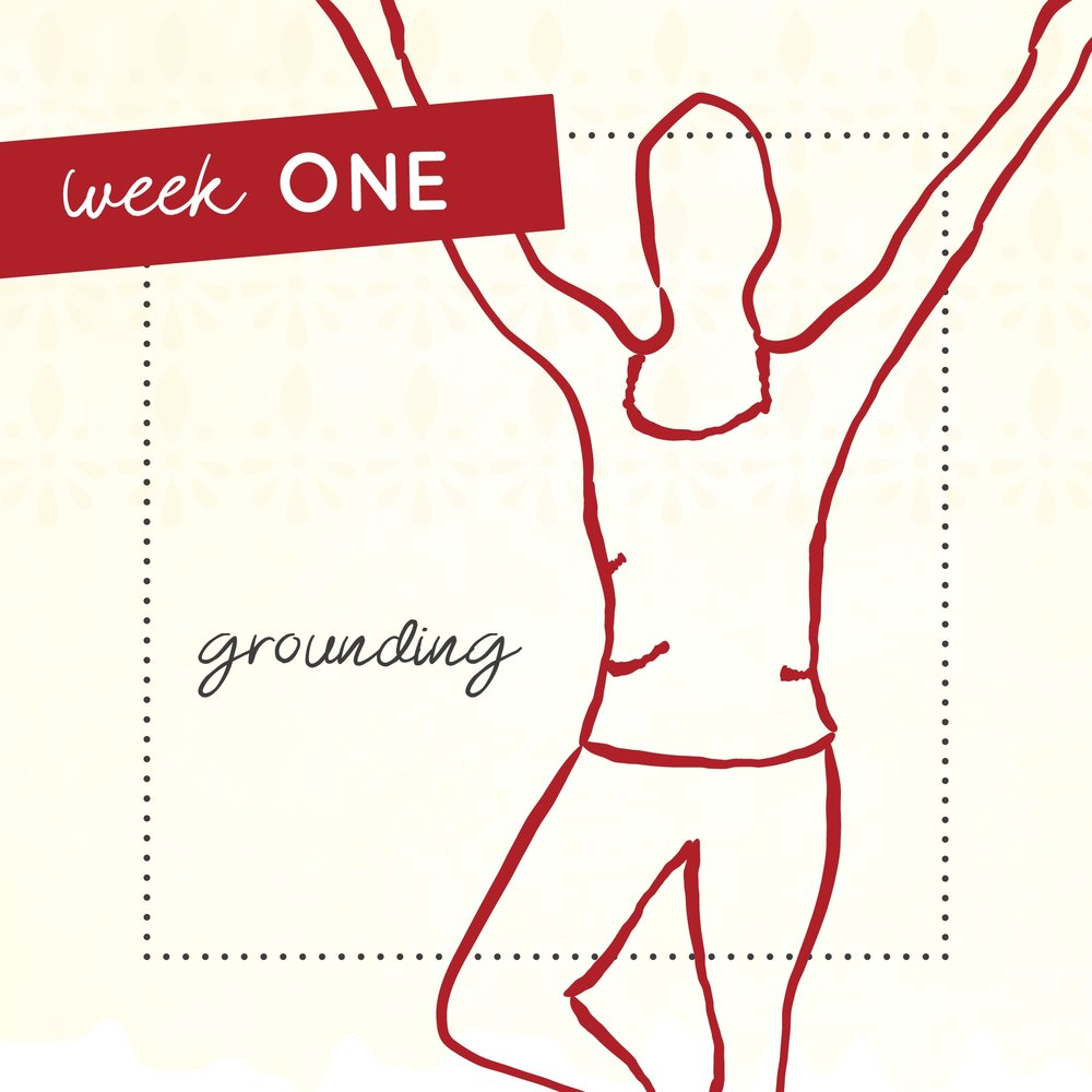 Week 1 of The Intrepid Yoga Project starts with grounding.