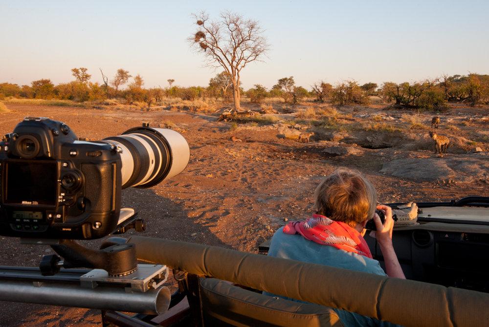 Africa Unlocked Photographing Hyena.jpg