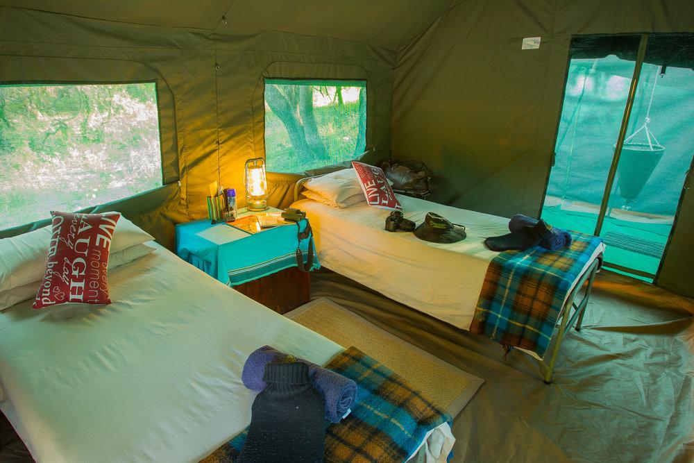 Serviced Safari Tent inside .jpg