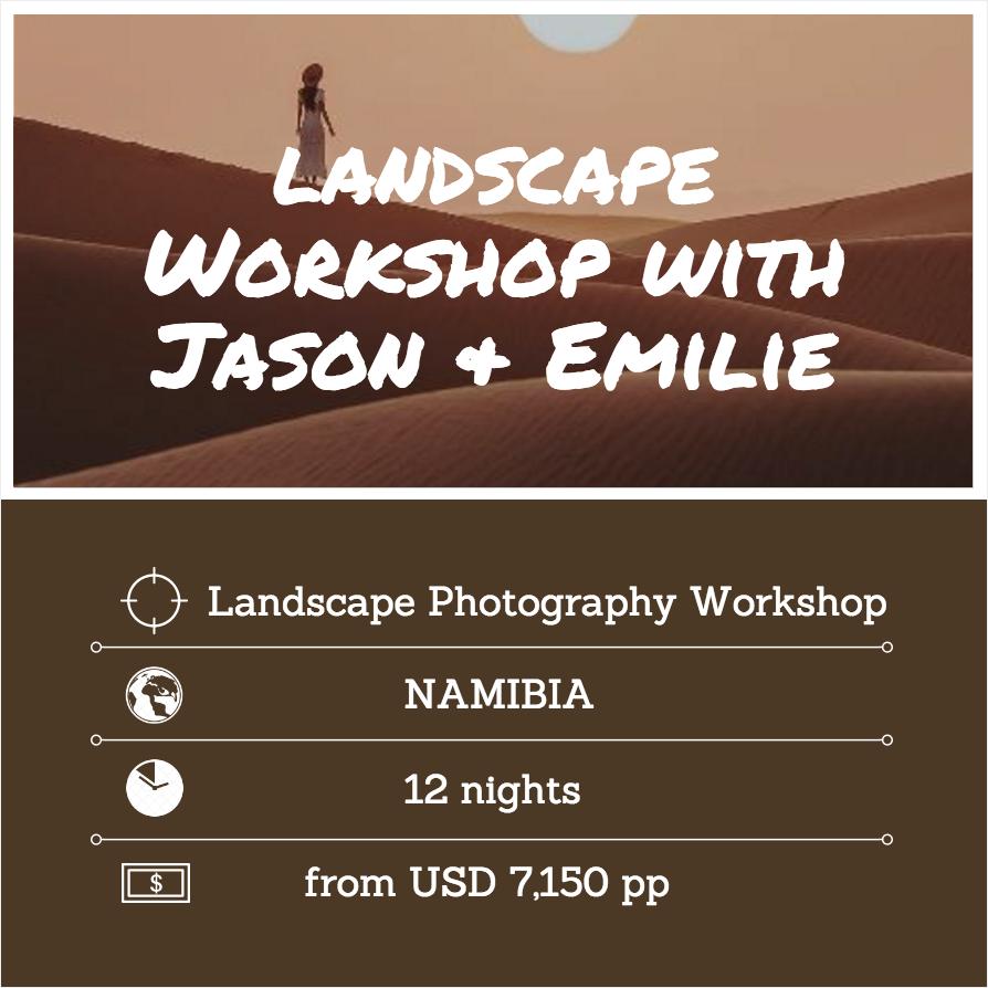 Landscape Photography Workshop Namibia