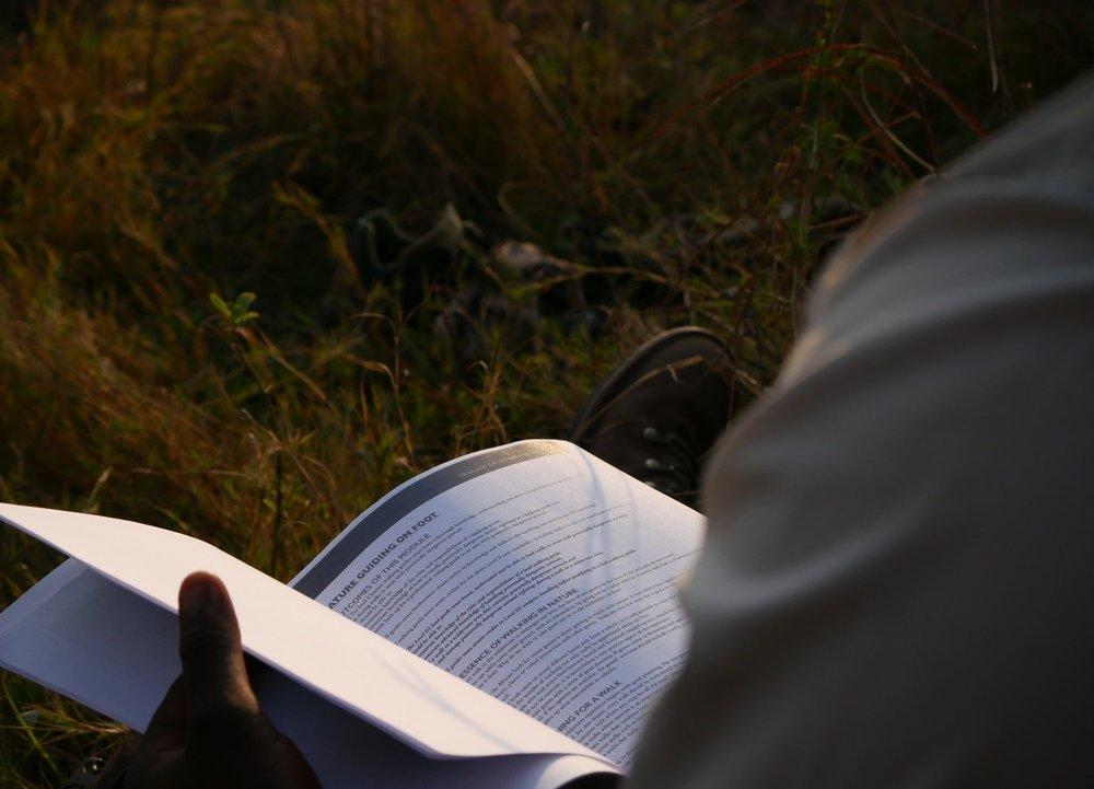 Auch im Busch wird nie ausgelernt: Das Learner-Manual der OGS