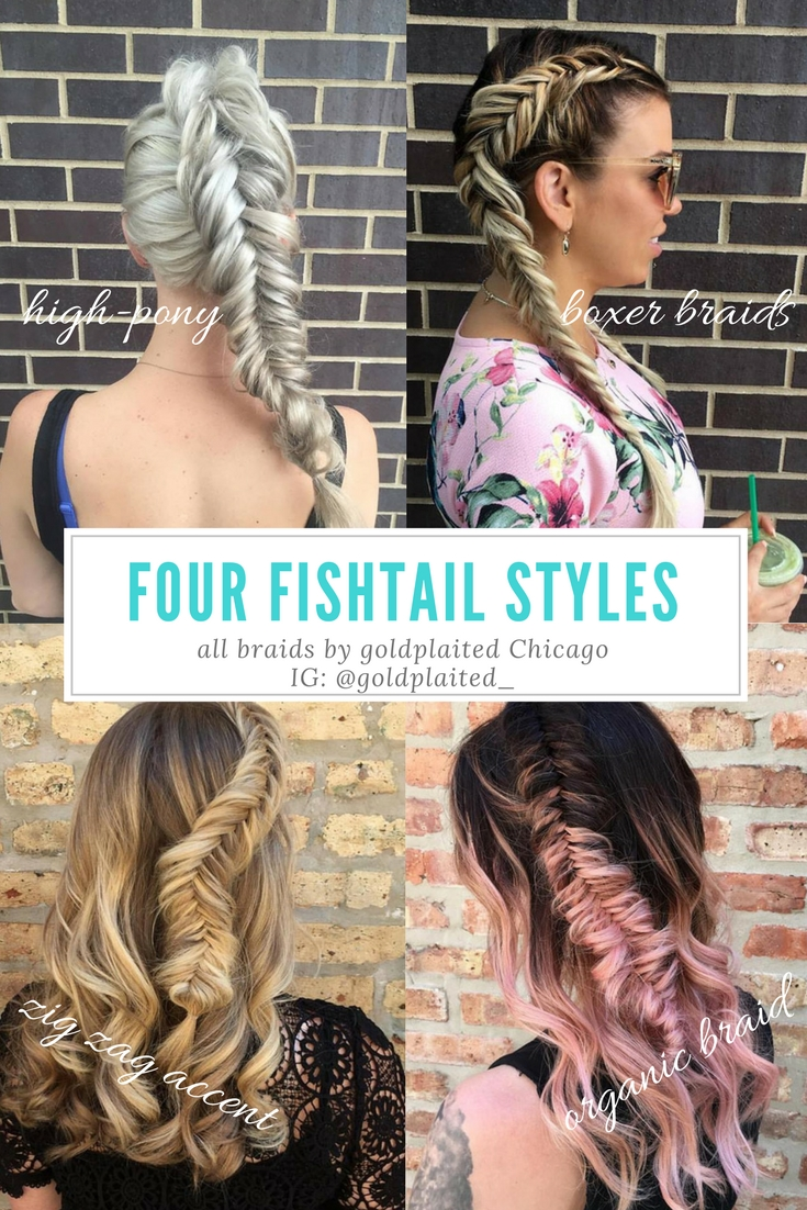 Fishtail Braids Four Ways — goldplaited
