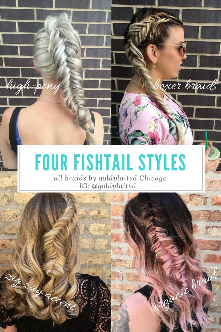 Fishtail Braids Four Ways — goldplaited