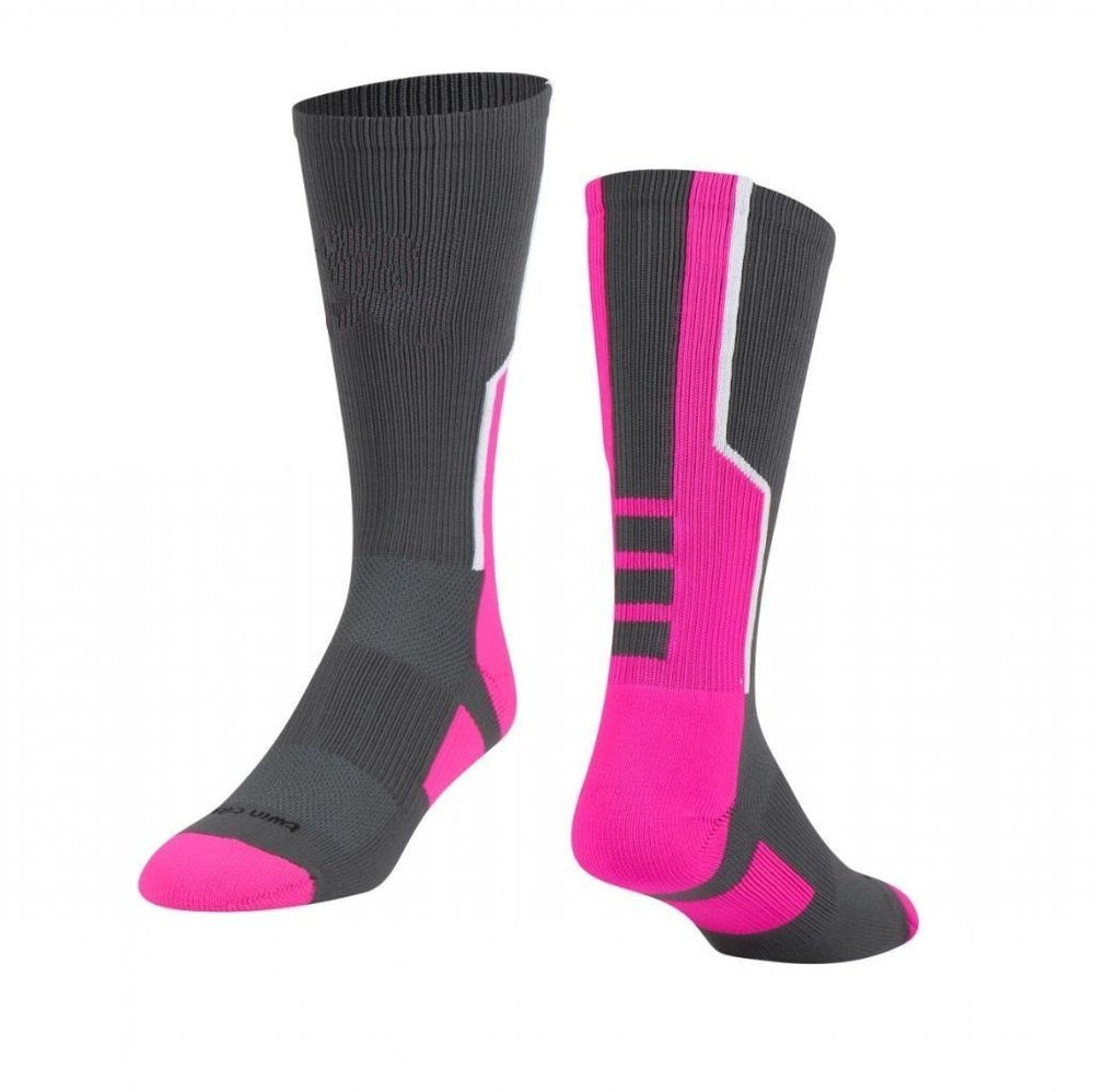 Black White and Pink Baseball Uniforms, Socks
