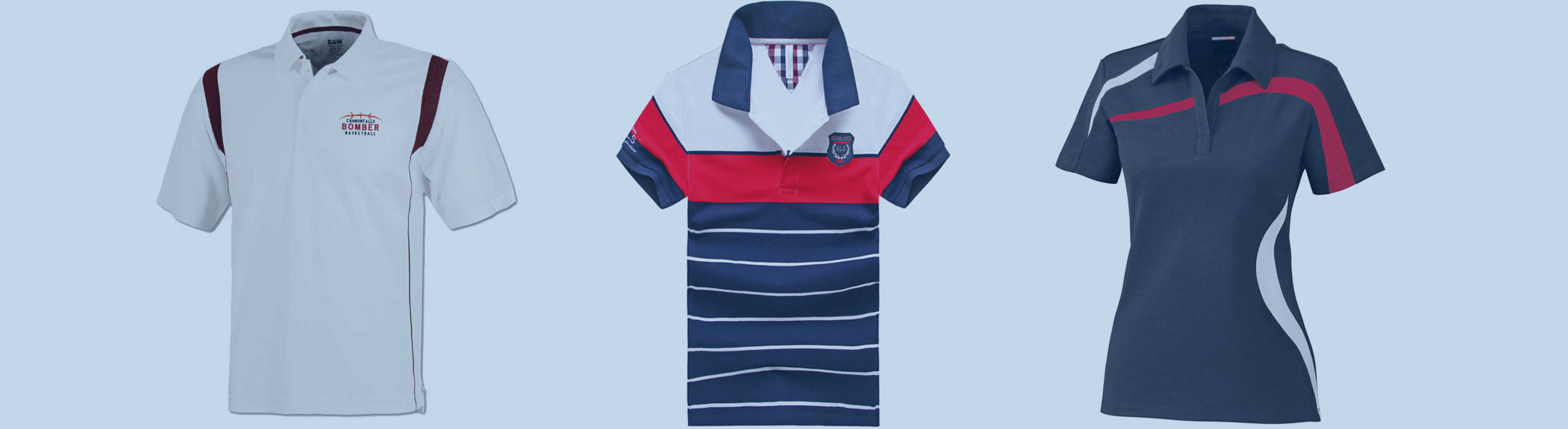 Custom Golf Polos And Shirts Wooter Apparel Team Uniforms And