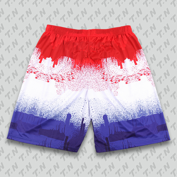 Red White and Blue Baseball Uniforms, Shorts