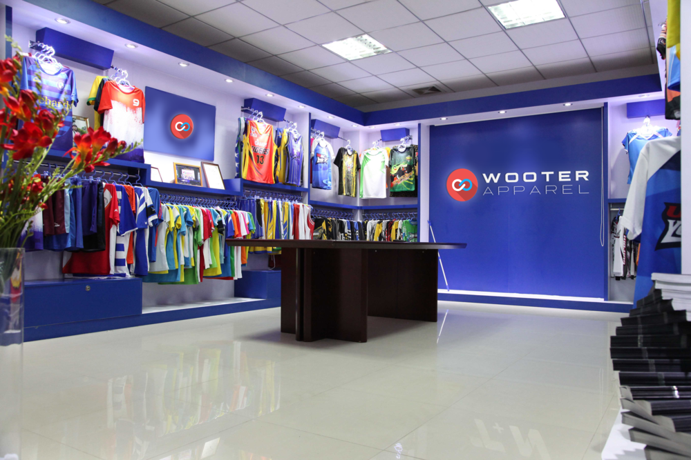 Wooter Apparel Showroom Factory