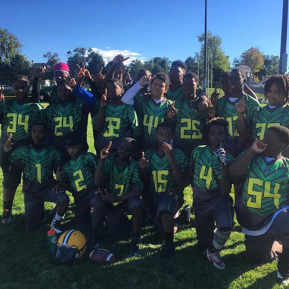 Blue Yellow White and Green Football Uniforms, Jersey and Shorts