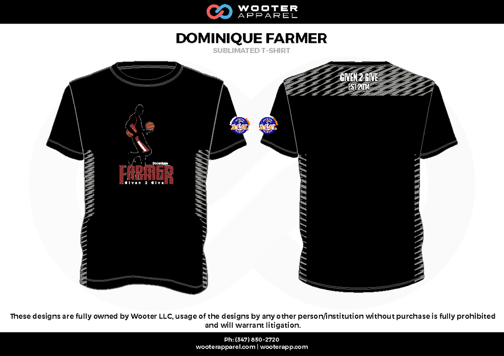 Wooter Apparel Website Designs T-Shirt - Sublimated T-Shirt Garments - 2017-7.png