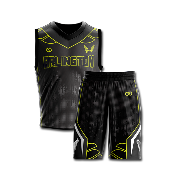 Full Sublimation Basketball Jersey Or Shorts Wooter Apparel Team