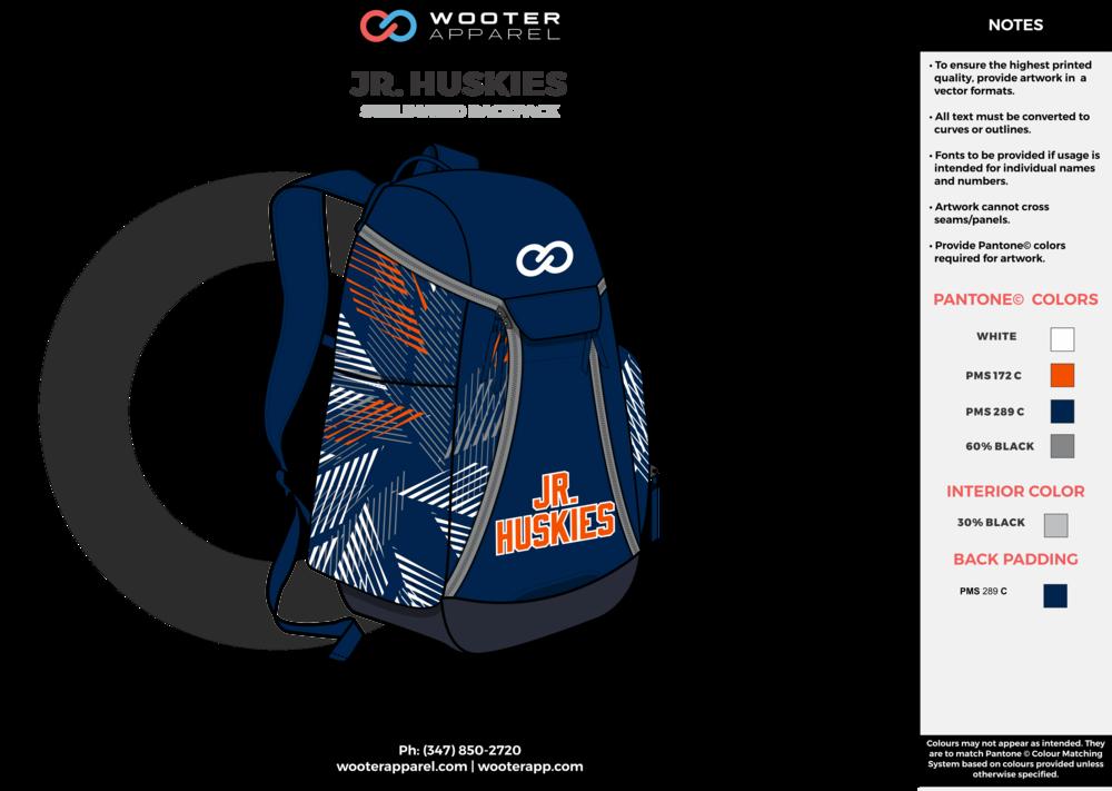 Jr Huskies - Basketball - Backpack - 2017 - v1.png