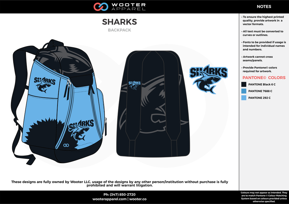 SHARKS black sky blue  Custom Basketball Backpacks, Bags, Nike Elite Bags