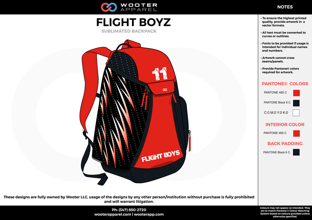 FLIGHT BOYZ red black white  Custom Basketball Backpacks, Bags, Nike Elite Bags