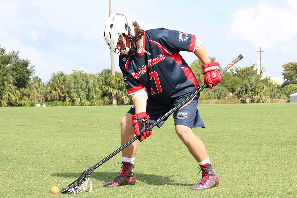 FLORIDA ATLANTIC Navy Blue Red White  Lacrosse uniforms jerseys shirts shorts