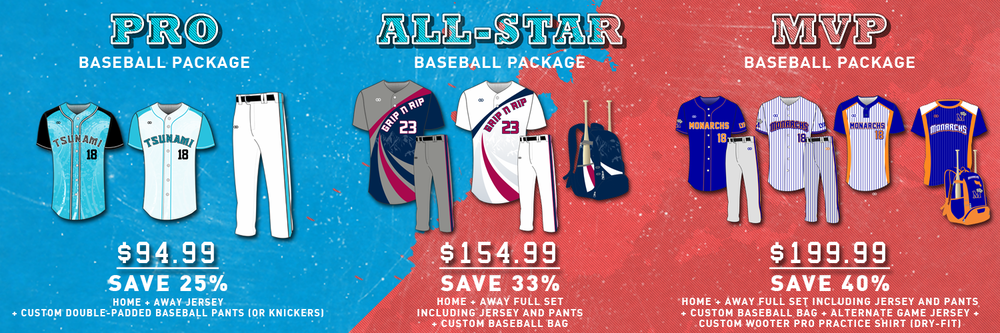 Wooter Baseball Package Pricing