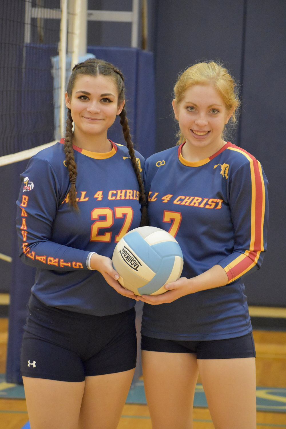 Blue Yellow Red Black volleyball uniforms jersey shirts, shorts