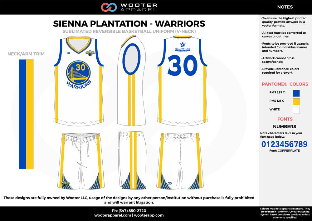 Sienna Plantation - Warriors - 14-15 Sublimated Reversible Basketball Uniform - 2017 2.png