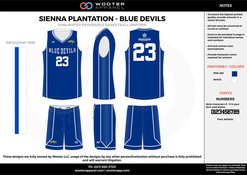 BLUE DEVILS blue white Basketball uniforms jerseys shorts