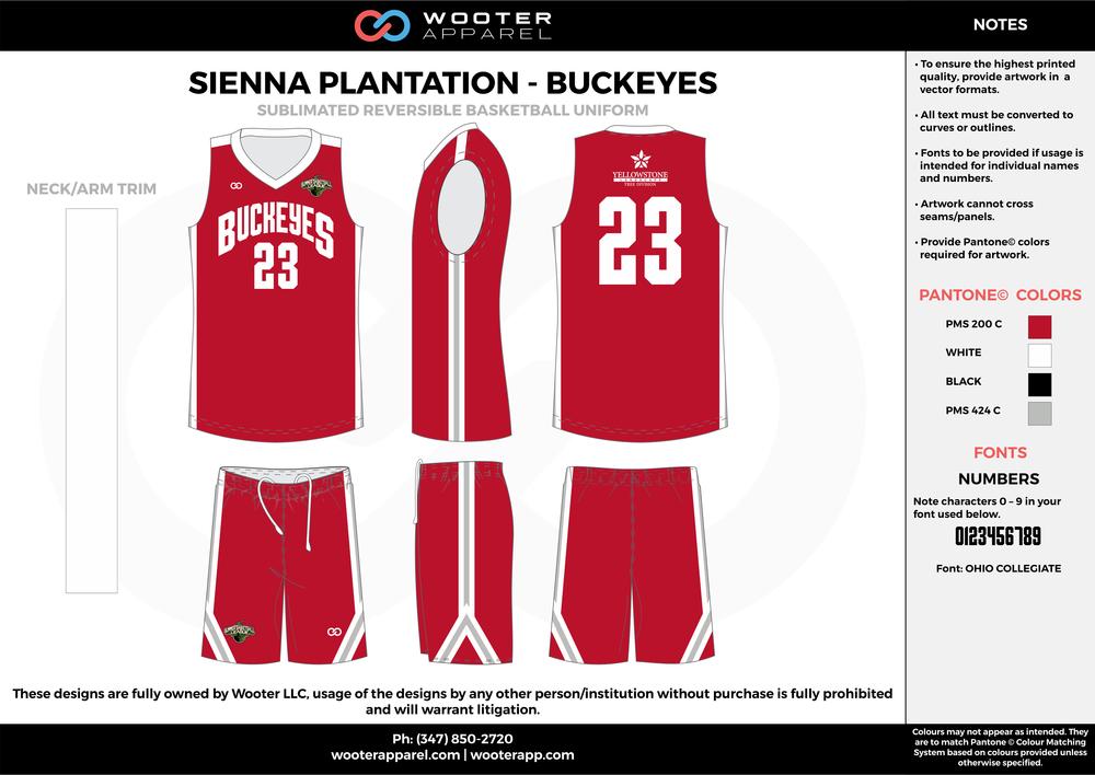 Sienna Plantation - Buckeyes - Sublimated Reversible Basketball Uniform - 2017 1.png