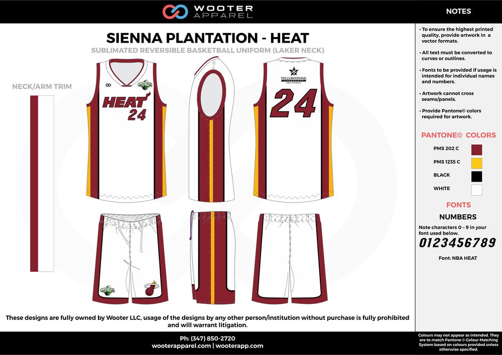 Sienna Plantation - Heat - 09-10 - Sublimated Reversible Basketball Uniform - 2017 2.png