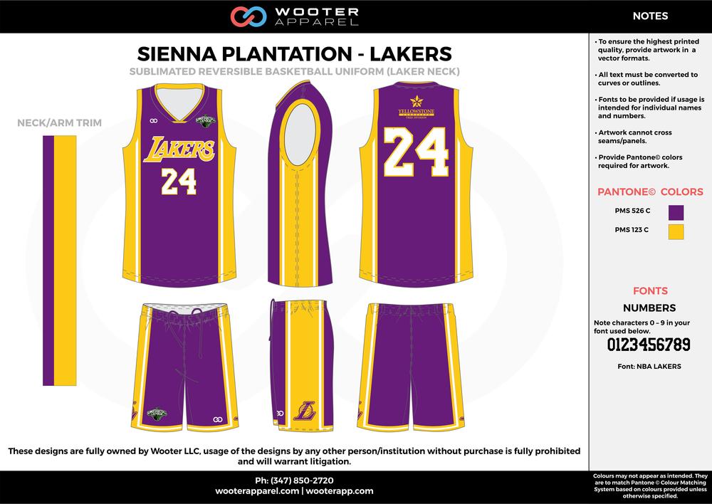 Sienna Plantation - Lakers - 99-00 - Sublimated Reversible Basketball Uniform - 2017 1.png
