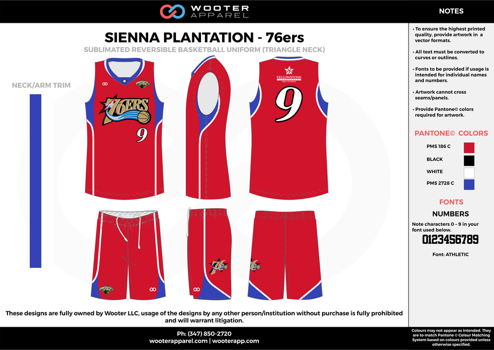 76ers red blue white black Basketball uniforms jerseys shorts