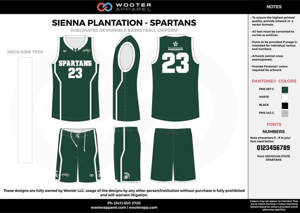 Sienna Plantation - Spartans - Sublimated Reversible Basketball Uniform - 2017 2.png
