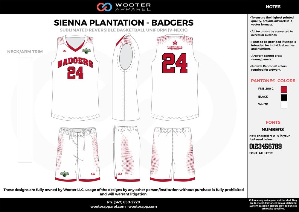 Sienna Plantation - Summer Basketball League - Badgers - Sublimated Reversible Basketball Uniform - 2017 2.png