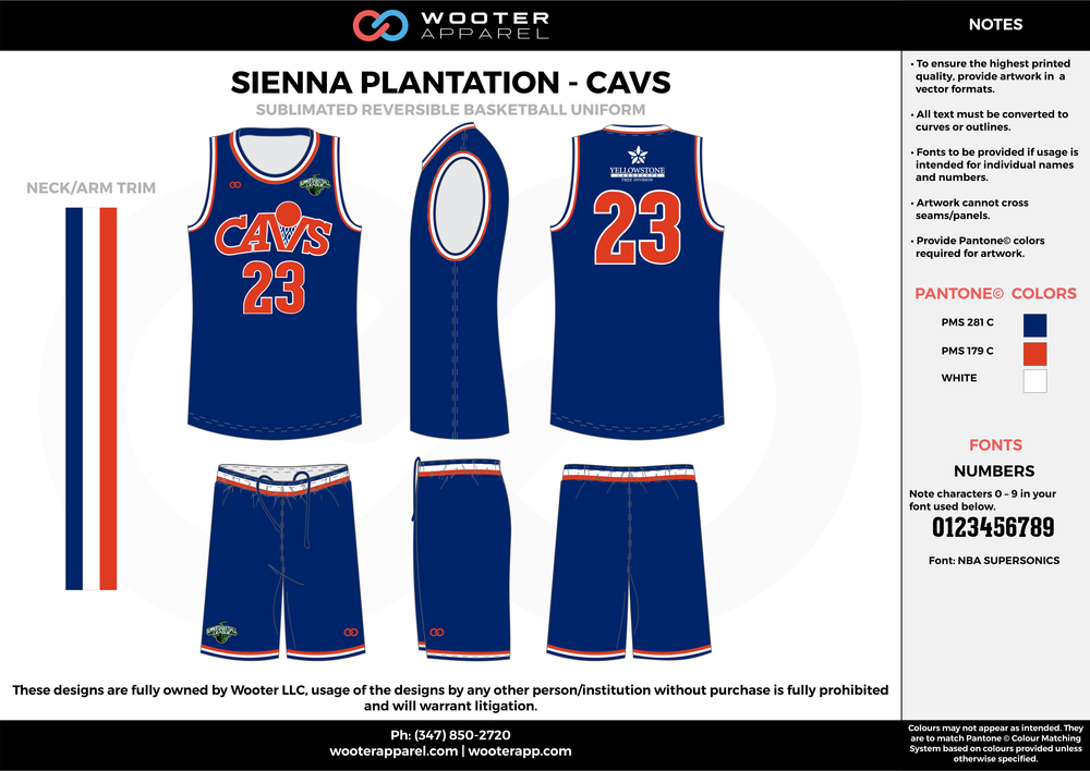CAVS blue red white Basketball uniforms jerseys shorts