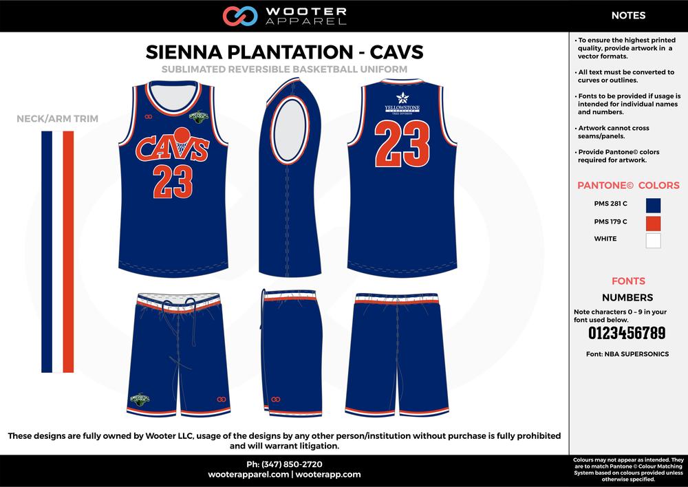 Sienna Plantation - Summer Basketball League - Cavs - Sublimated Reversible Basketball Uniform - 2017 1.png