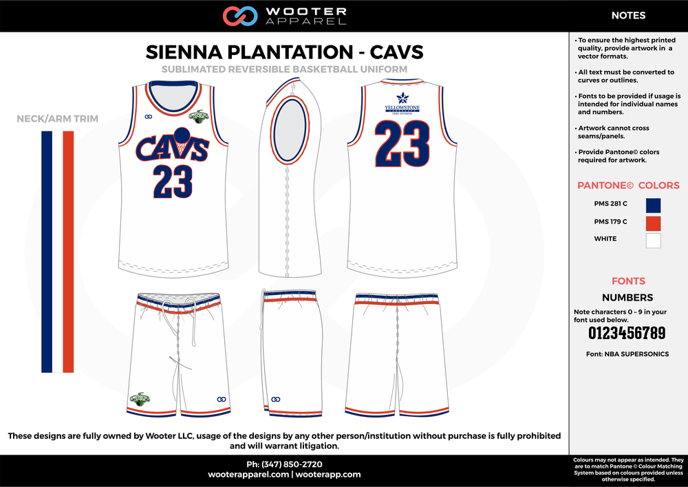 CAVS white blue red Basketball uniforms jerseys shorts